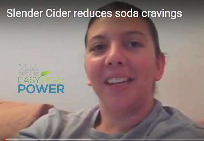 Slender Cider helps Romina Eliminate Soda