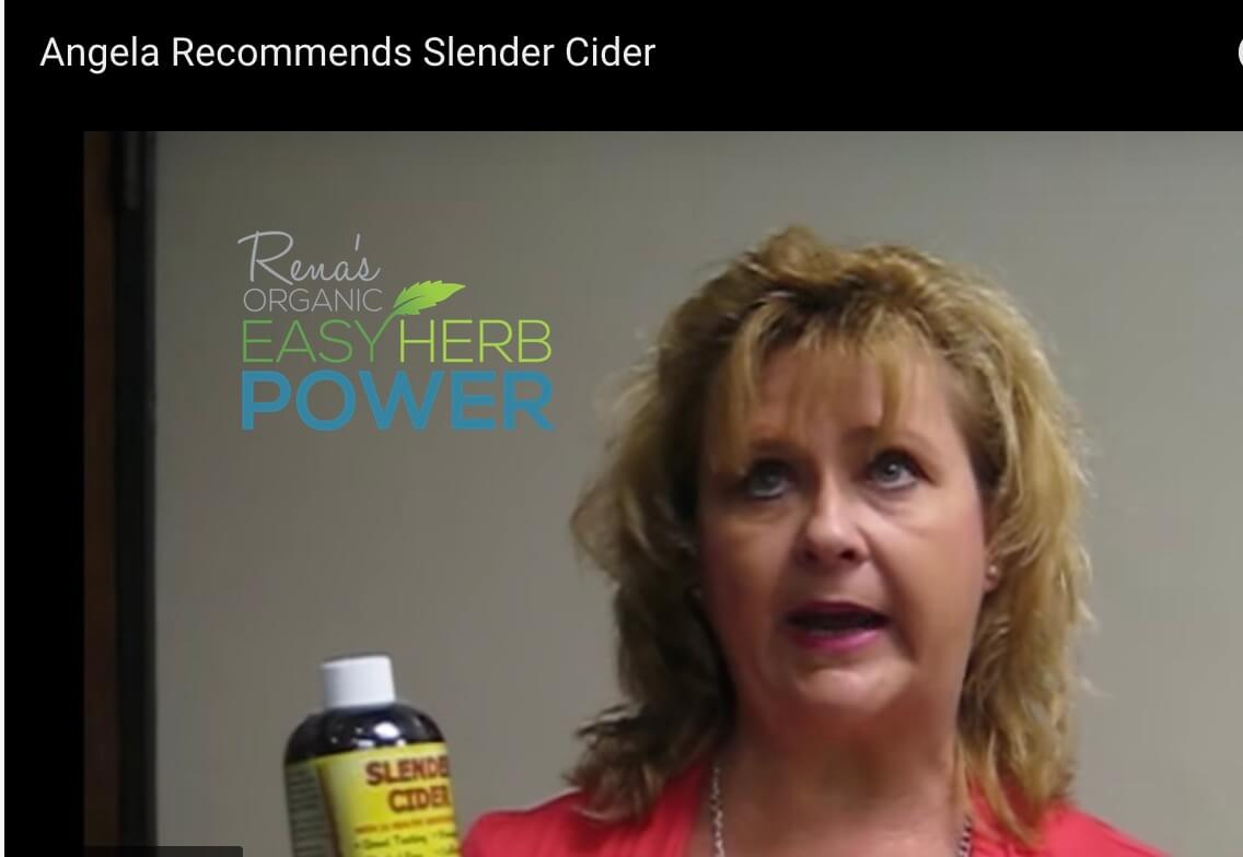 Angela Loves Slender Cider