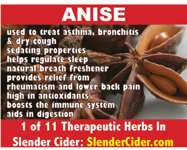 Benefits of Anise