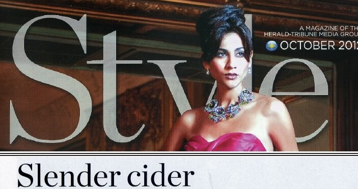 Style Magazine features Slender Cider