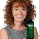 Rena holding Green Slender Cider