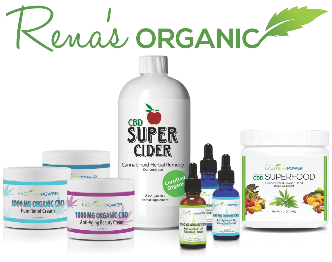 Renas Organic EHP CBD Collection without Pet Product