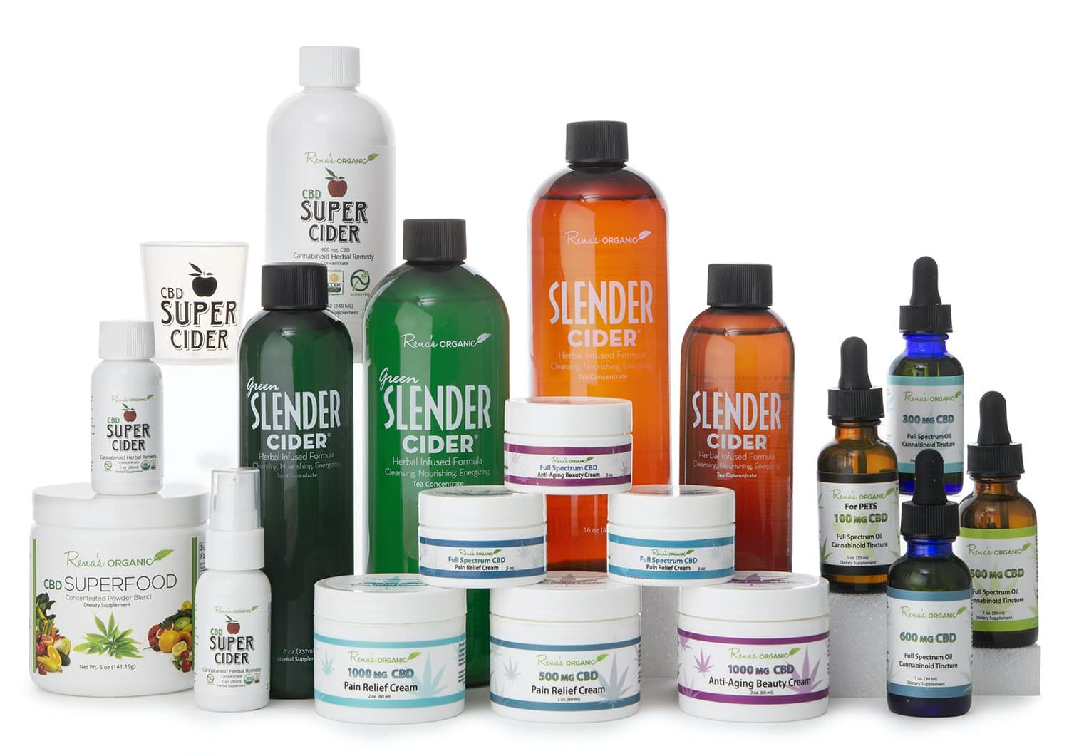 Rena's Organic Line with Slender Ciders