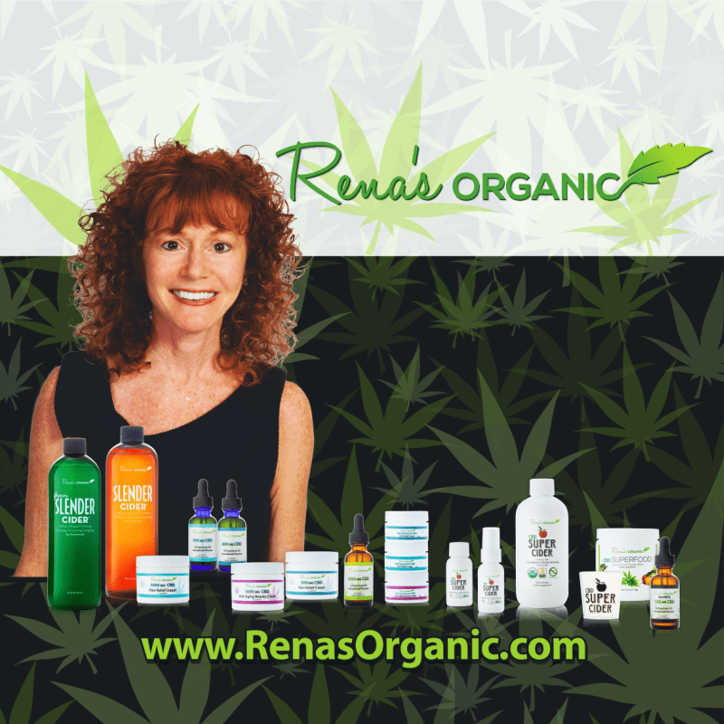 Rena's Organic CBD products