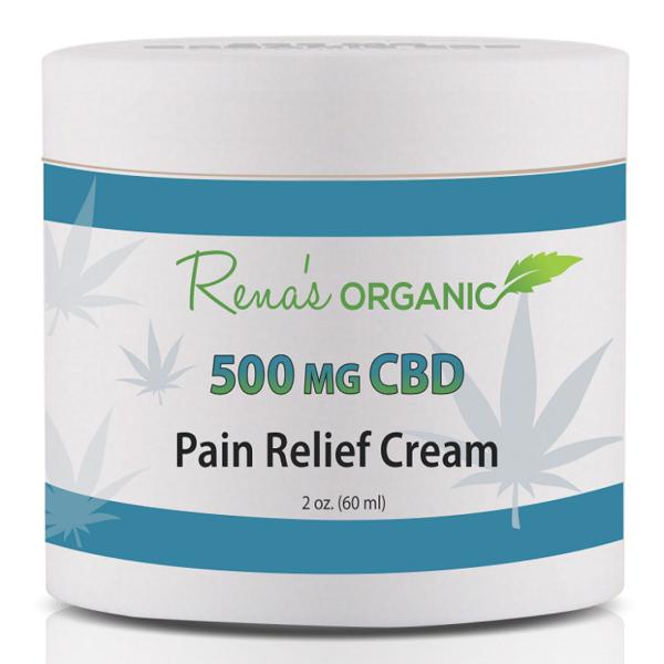 500 mg CBD pain relief cream