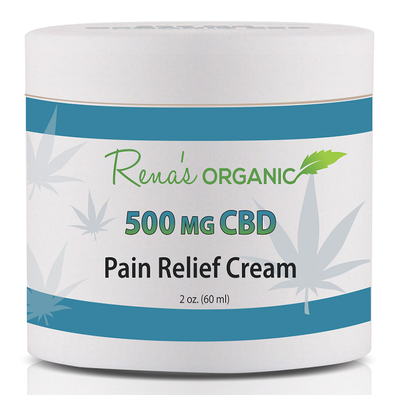 500 mg CBD pain relief cream