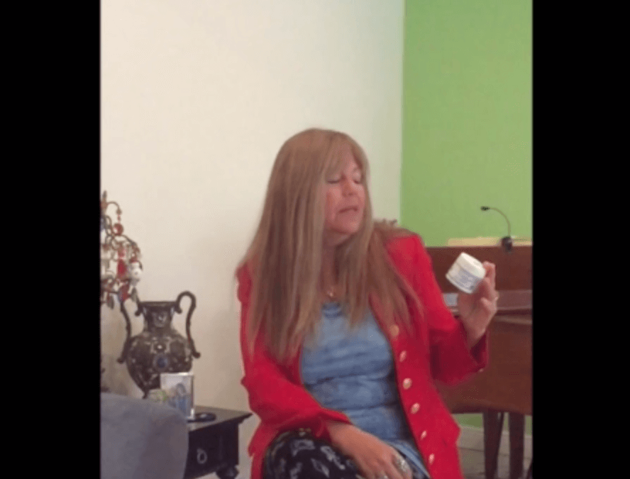 Cindy gets miraculous pain relief with 1000 mg. CBD topical