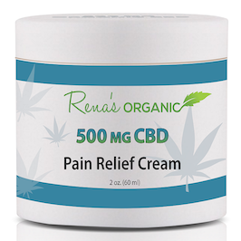 CBD 500 mg. pain relief cream