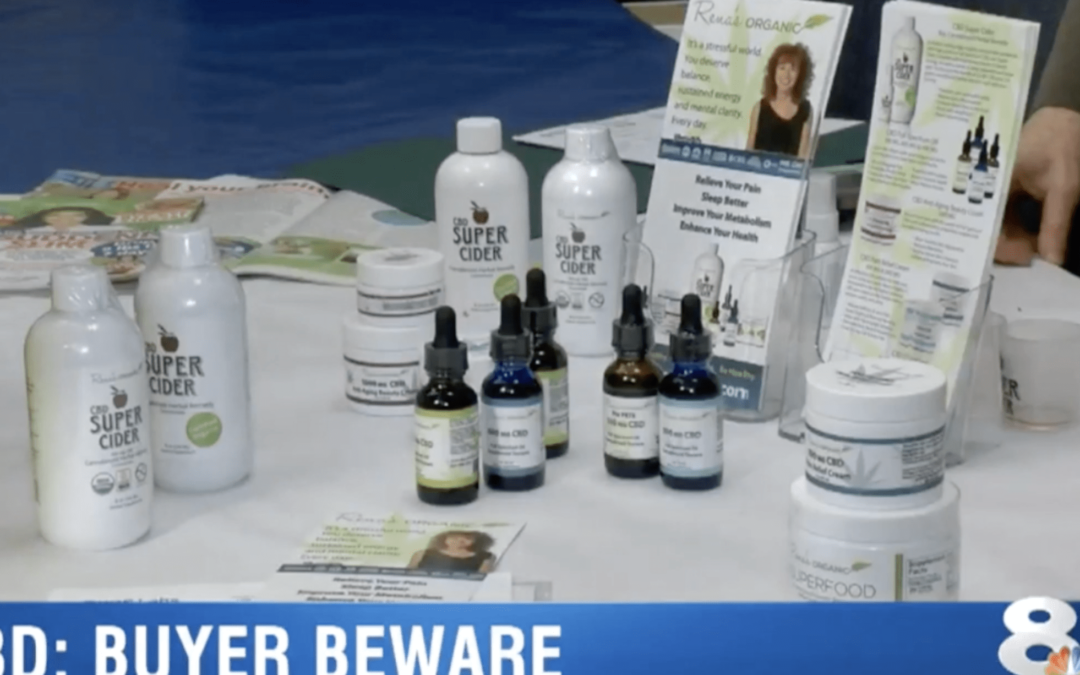 NBC-TV Features Rena's Organic as a Trusted CBD Brand