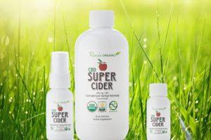 CBD super ciders grass