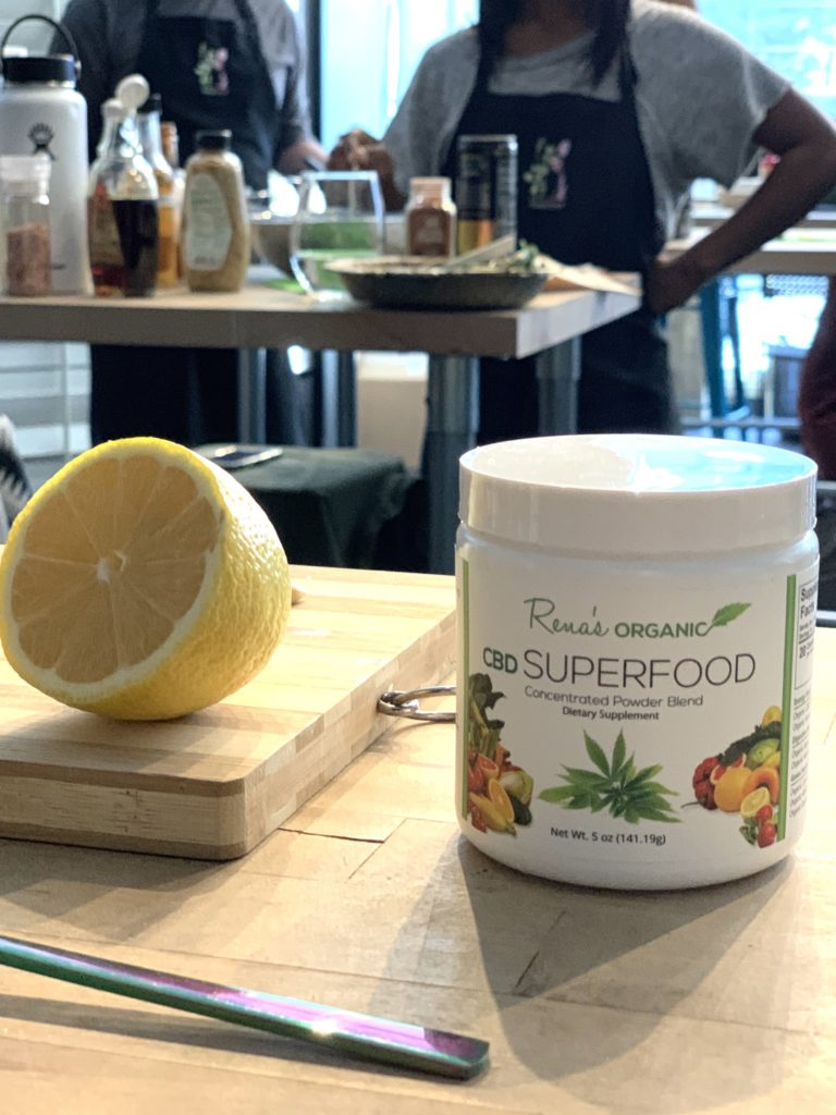 CBD Super Food and Lemon