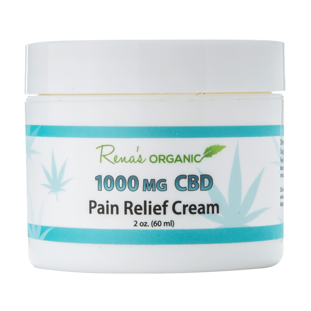 CBD 1000 MG. Pain Relief Cream