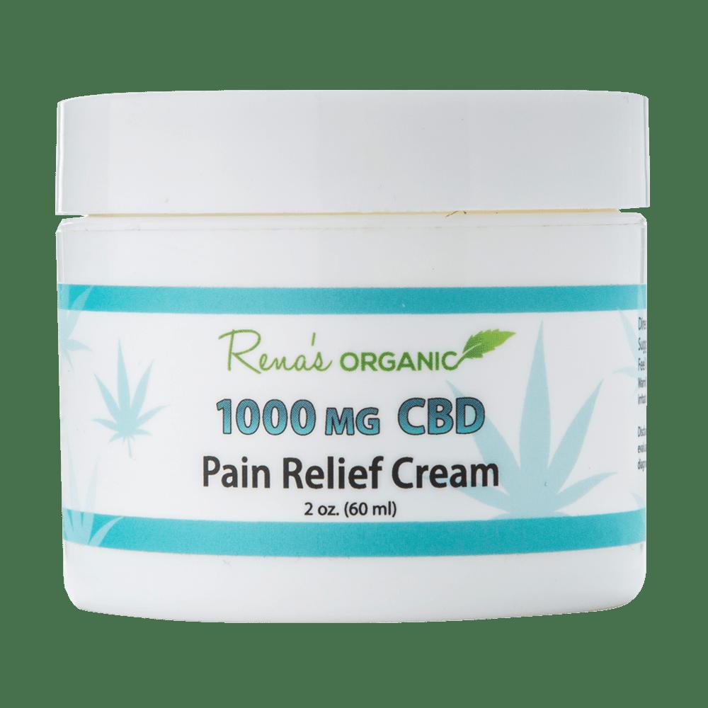 1000mg CBD pain relief cream from Rena's Organic