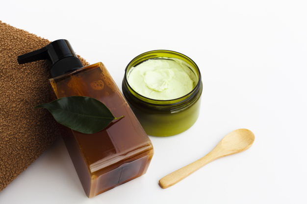 cannabis-infused coconut oil in a bottle