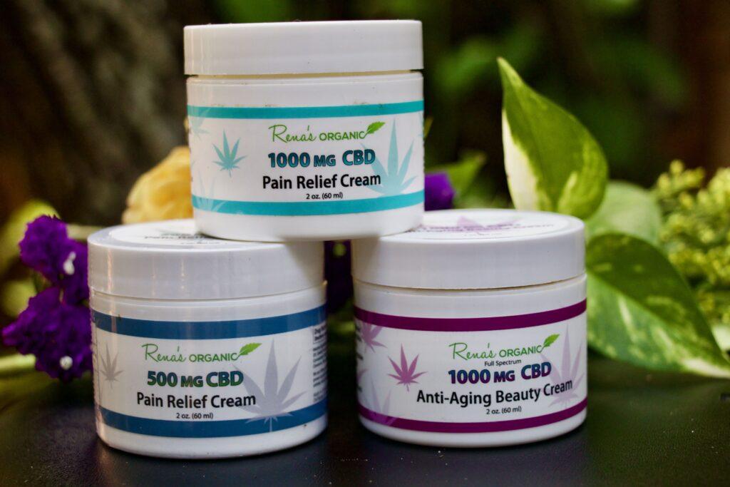 CBD pain creams