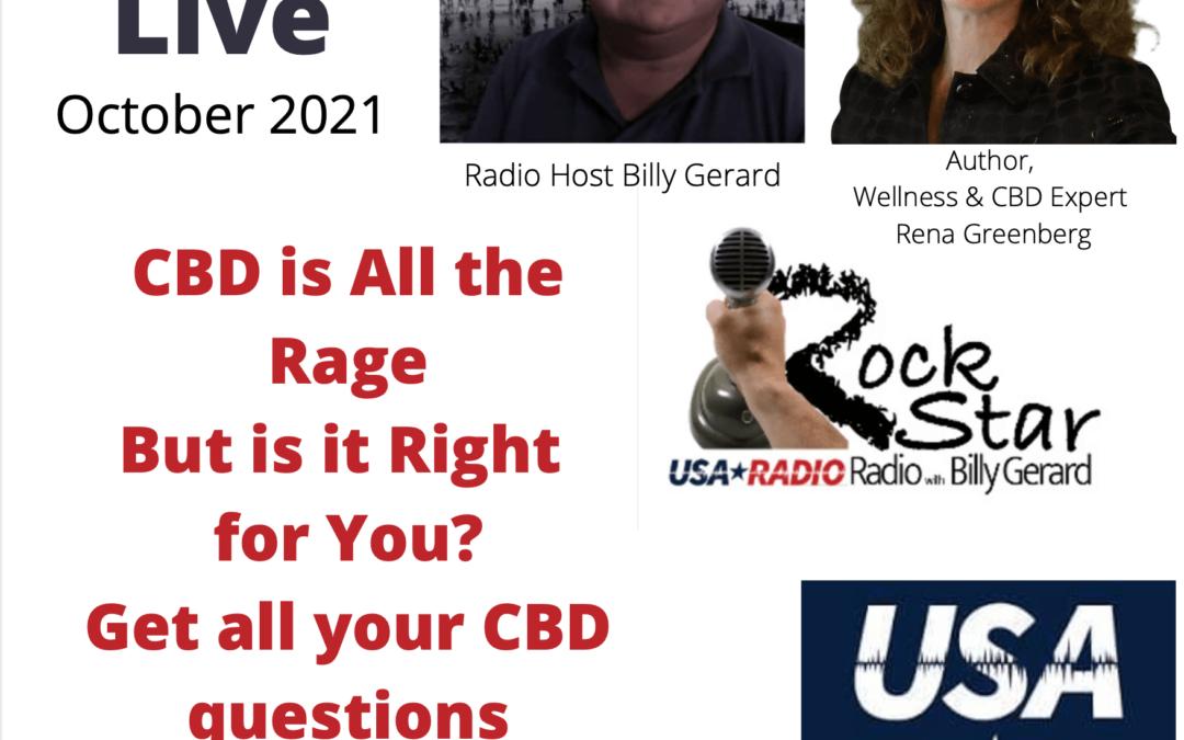 CBD Expert Rena Greenberg on Rock Star Radio